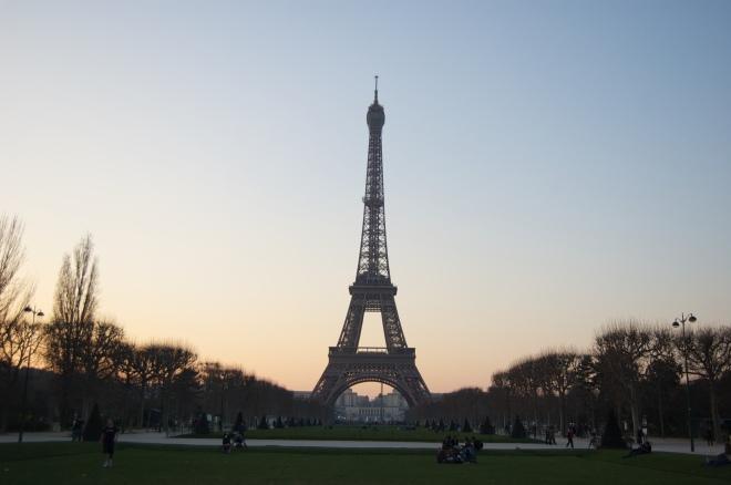 Torre Eiffel. París 2009